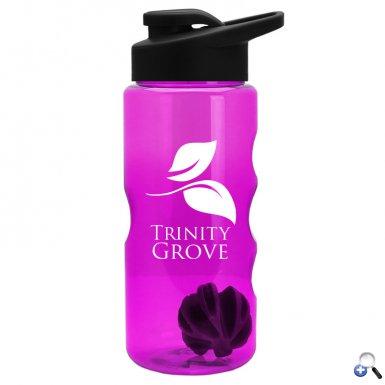 22 oz. Shaker  Bottle - Drink-Thru Lid