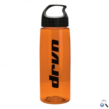 26 oz Tritan Flair Bottle with Crest Lid