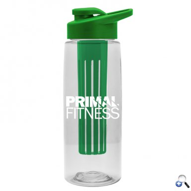 26 oz Infuser Flair Bottle & Drink-Thru Lid