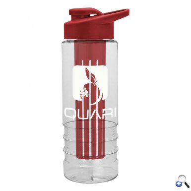 Salute Infuser - 24 oz. Bottle with Drink-Thru Lid