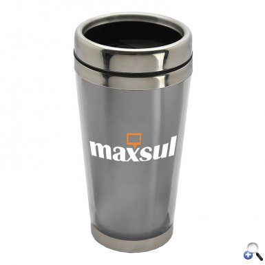 16 oz. Stainless Auto Tumbler with Acrylic shell