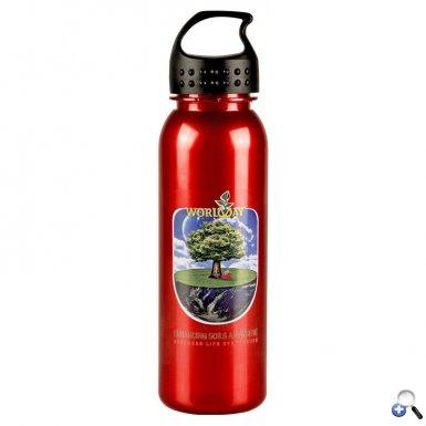 24oz Digital MetalikeTritan Bottle Crest Lid