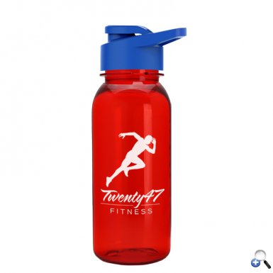 Cadet - 18oz. Tritan Sports Bottle with Drink-Thru