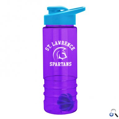 24 oz Tritan Salute Shaker Bottle - Drink-Thru Lid