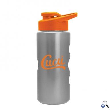 Mini Peak - 22 oz. Metalike Bottle -Drink Thru Lid