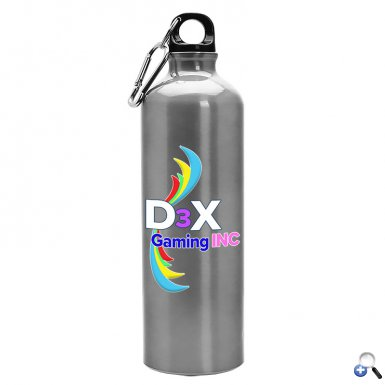 25 oz Digital Aluminum Water Bottle