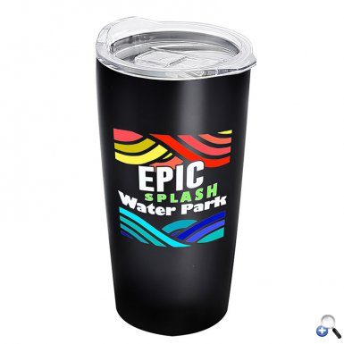 The Digital Summit - 18 oz. Stainless Tumbler