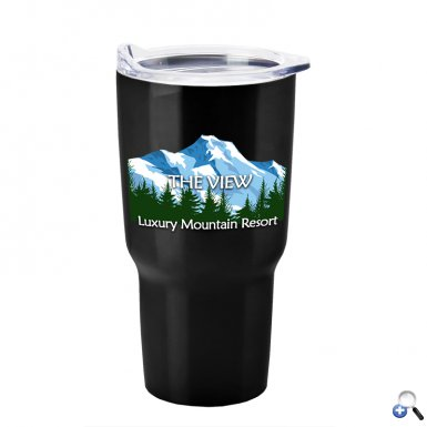 Digital Voyage - 28 oz. Stainless Steel Tumbler