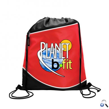 Digital Campus Pack 210D Drawstring Zipper Pocket
