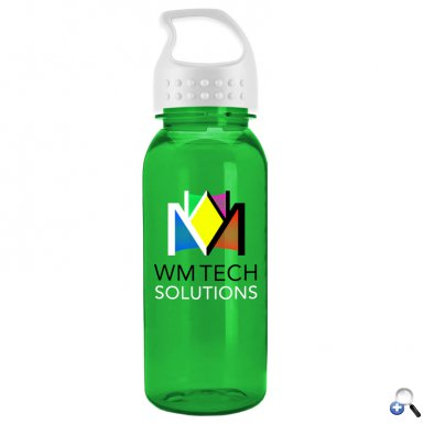 Digital Cadet 18 oz. Tritan Bottle with Crest Lid