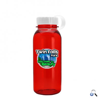 Digital Cadet 18 oz. Tritan Bottle, Tethered Lid