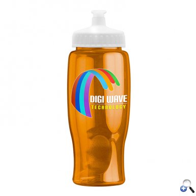 Digital Poly-Pure - 27 oz. Transparent Bottle