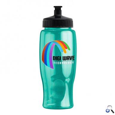 Digital Poly-Pure - 27 oz. Transparent Bottle