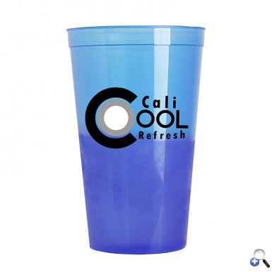 Cups-On-The-Go 22 oz. Cool Color Changing Cup