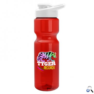 28 oz. Trans. Bottle with Snap Lid - DP