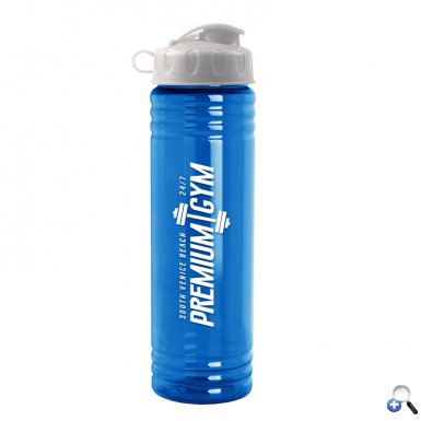 24 oz. Slim Fit Water Bottle with Flip Lid