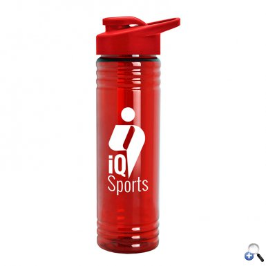 24 oz. Slim Fit Water Bottles with Drink-Thru Lid