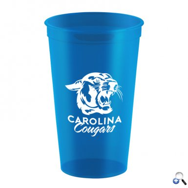 22 oz. Stadium Cup - Translucent Colors