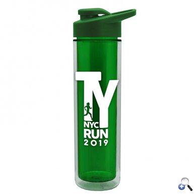 16 oz. Insulated Bottle - Drink-Thru Lid