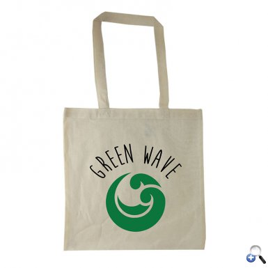 "15"" Natural Cotton Totes"