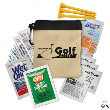 The Eagle - Premium Golf Kit with Carabiner