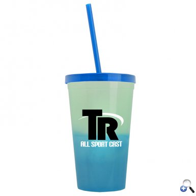 22 oz. On-The-Go Cool Color Changing Tumbler