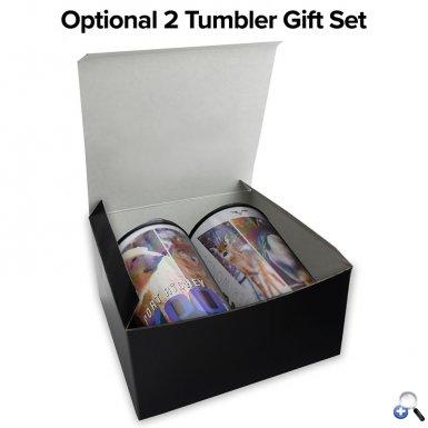 14 oz. Full-Color Wrap Auto Tumbler