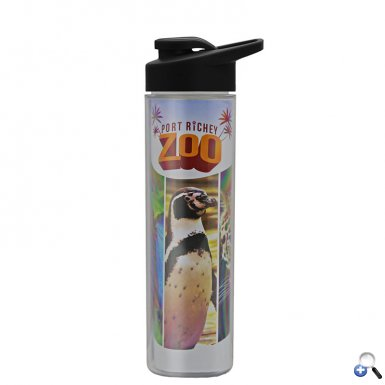 Full-Color Wrap Tritan Bottle with Drink-Thru Lid