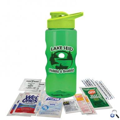 Tritan Bottle Kit with Drink Thru Lid