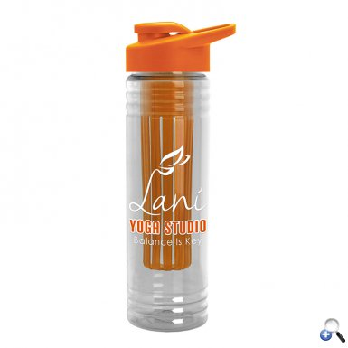 24 oz. Infuser Bottle - Drink-Thru Lid