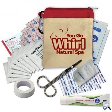 Cotton Tote First Aid Kit