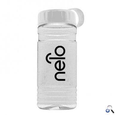 Big Grip 20 oz. Transparent Bottle - Tethered Lid