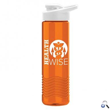 Wave 24 oz. Tritan Bottle - Drink-Thru Lid