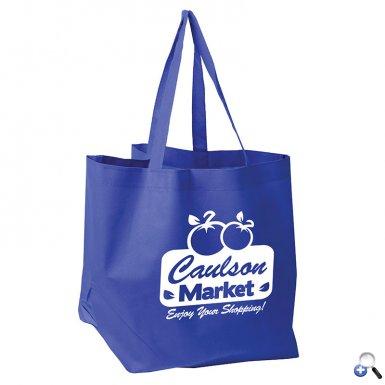 The Shopper - Nonwoven Grocery Tote