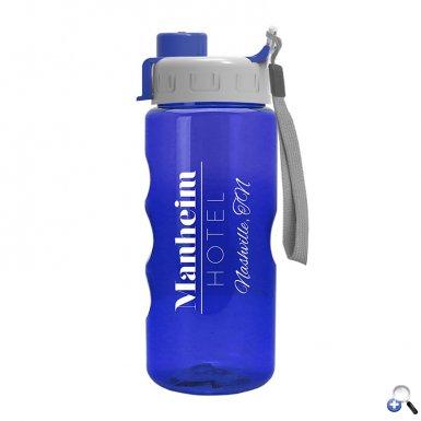 22 oz. Tritan Bottle - Quick Snap Lid