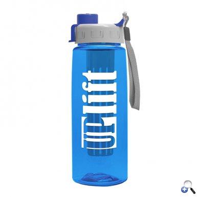 26 oz Infuser Flair Bottle & Quick Snap Lid
